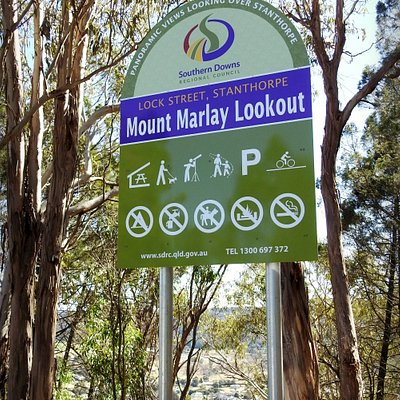 Nice spot to check out Stanthorpe and surrounding areas.