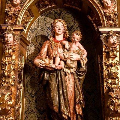 Vírgen de las Candelas o de la Salve - (Juan de Anchieta, h. 1570)