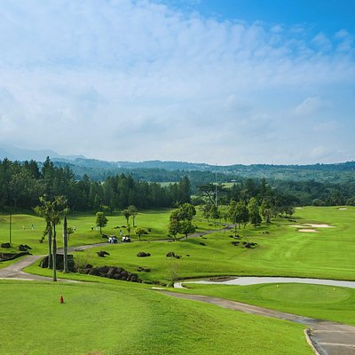 A Stunning View of Sentul Highlands Golf Club