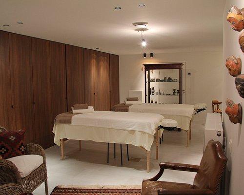 Massagepraktijk voor de betere massages in een luxe kader.