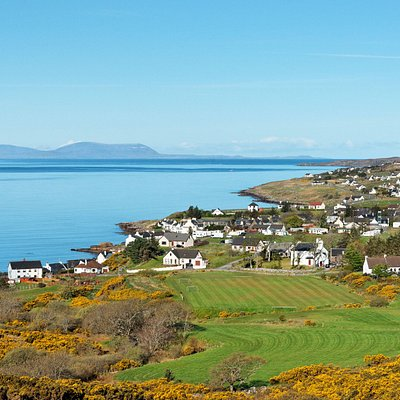 The Isle of Skye from Gairloch, Wester Ross, Scottish Highlands, UK