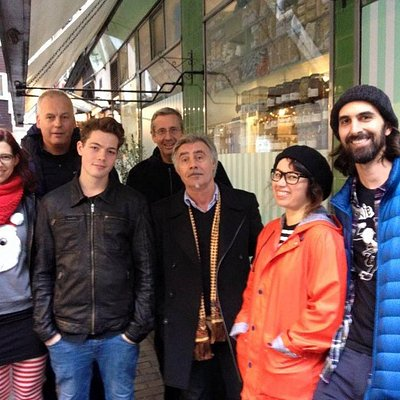 You never know who you'll bump into on The Original Soho Punk Tour.