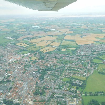 Beverley Town, on the way at 2200 feet