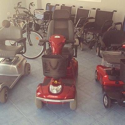 Alquiler de Scooter para personas con movilidad reducida