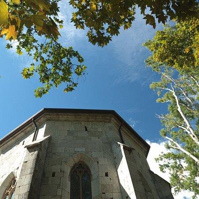 La chiesa di San Giovanni in Tuba, risalente al 1483, edificio di culto in stile gotico.
