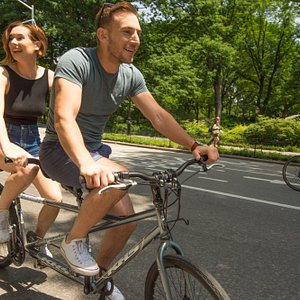 Rent a bike and take a ride through Central Park. Bring friends, family, or get some solo exerci