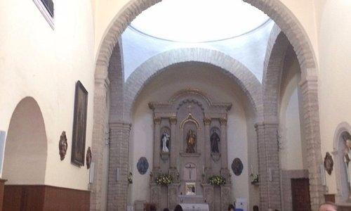 Interior Iglesia de San Francisco