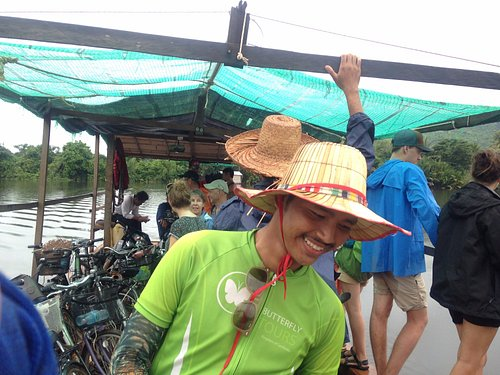 Our friendly and knowledgeable guide, Rithy.