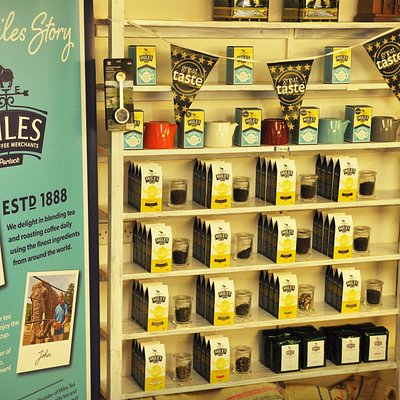 Some of the Miles loose tea range including fruit and herbal infusions.