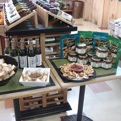 Come sample our local products