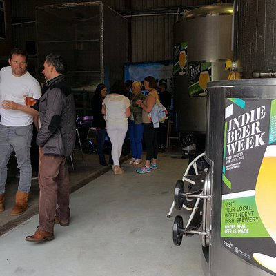 Indie Beer Week event at Blacks Brewery