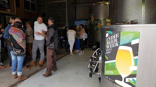 Indie Beer Week event at Blacks Brewery