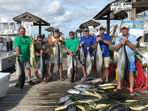 7/21-23-2017. Alabama Deep Sea Fishing Rodeo Lady Ann crew. Super guys/super catch