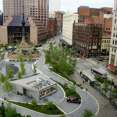 Rebol, Jack Casino and Civil War Monument & Museum in Public Square
