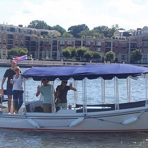You Be the Captain and tour the Inner Harbor with your own picnic and BYOB