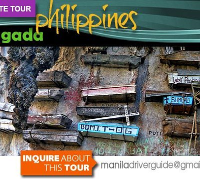 Explore the caves, go bird-watching, and view the hanging coffins in the mountain town of Sagada
