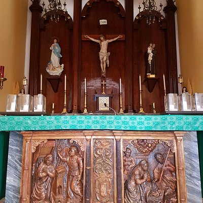 Altar de la iglesia.