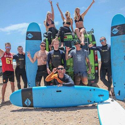 Lineup Surfschool