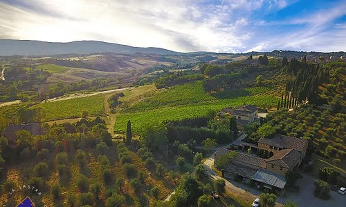 Our winery from the sky