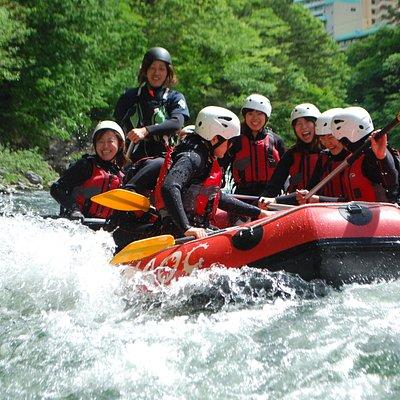 Kinugawa Rafting