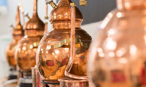 Mini Copper Stills