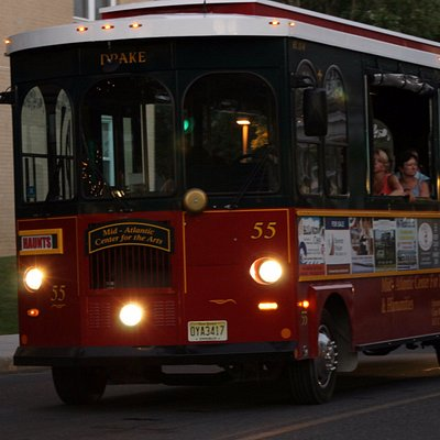 Ghost Tour on the Trolley