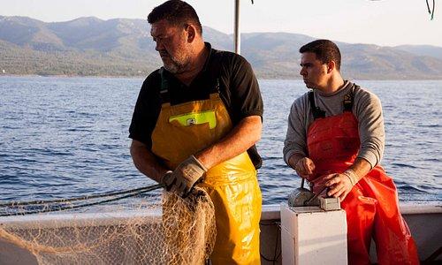 Jose y Vicente los pescadores pioneros en Pesca-Turismo en la Comunidad Valenciana.