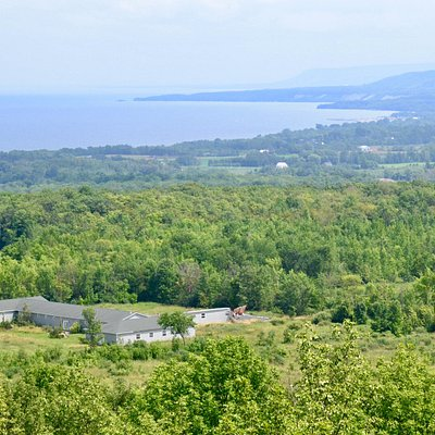 Scenic view over Georgian Bay & Meaford