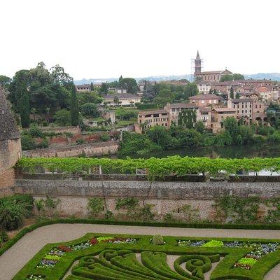 French Garden at Bishops Palace, Albi