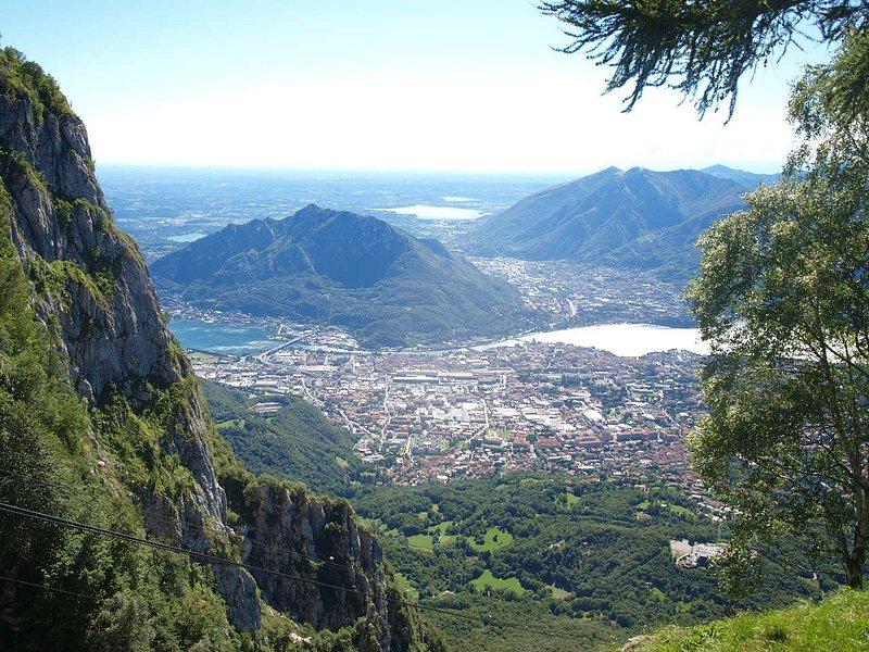 une des vues depuis la montagne