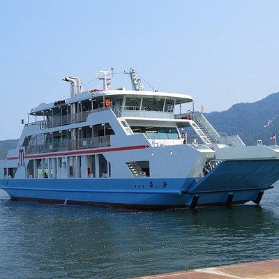 平成29年7月25日就航「安芸」です。