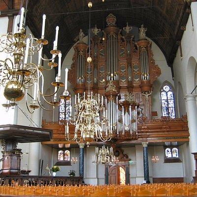 Het prachtige Garrels-orgel uit 1732.