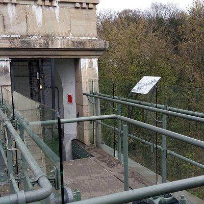 Walkway inside Hebewerk