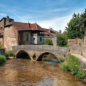 Pont des Capucins à Arbois