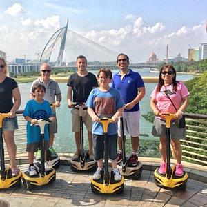 3 Generations in Putrajaya Eco Ride