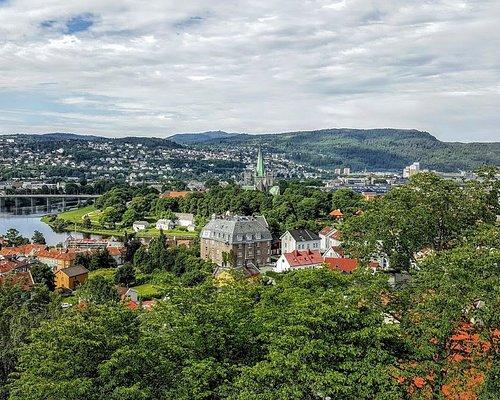 vista desde la Fortaleza de Kristiansten