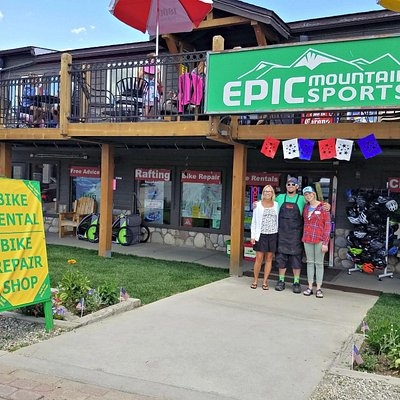 Visit Epic Mountain Sports for Your Winter Park Bike Rentals