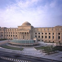 The Facade of the Brooklyn Museum