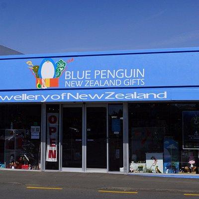 Blue Penguin Gifts shop front