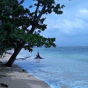 Isolated beach!