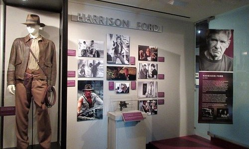 The Hall of Fame showcases famous Californians from sports figures to movie stars.