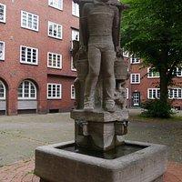 オリジナルのハンス・フンメル像
