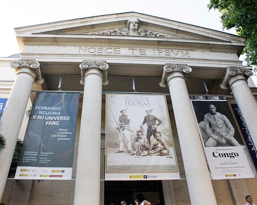 Fachada del Museo Nacional de Antropología