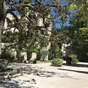Toujours ensoleillé ce square est aussi pourvu de très belles essences d'arbres