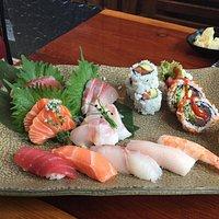 Very nice platter of Sushi
