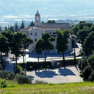 Vista panoramica del santuario