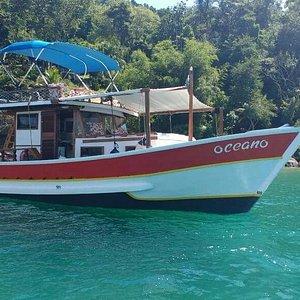 Barco Oceano Paraty - Passeio privativo com qualidade e bom gosto!
