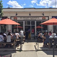 Our patio is perfect for dining in the sun
