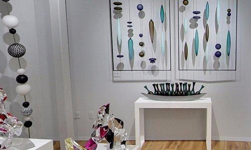 Interior of Bender Gallery located at 29 Biltmore Ave