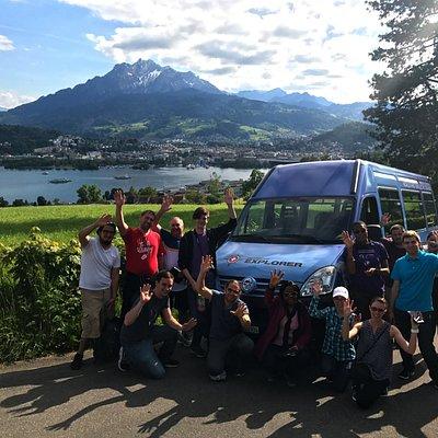 Chocolate Tour on Mount Dietschiberg, Lucerne.